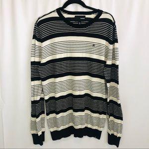 Men's Hurley knit light weight crew neck sweater